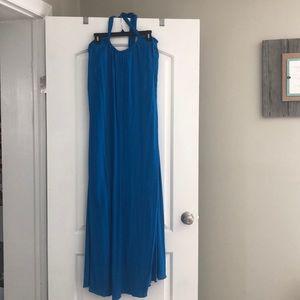 Elan Dresses - Elan backless halter maxi dress